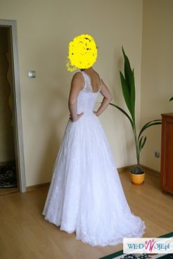 Sprzedam Koronkowa suknia ślubna