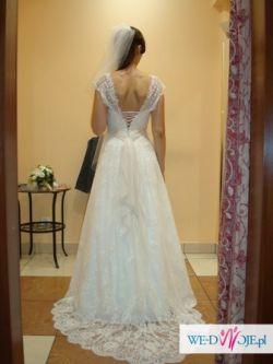 Sprzedam koronkową suknię Bessie firmy Nabla