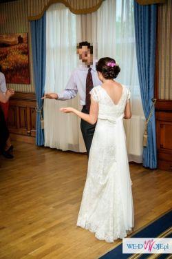 Sprzedam koronkową suknię ślubną model Hidaya, Cymbeline