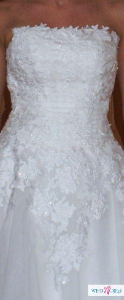 Sprzedam krótką sukienkę ślubną