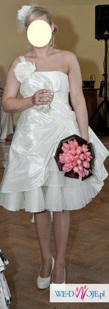 Sprzedam krótką suknię ślubną Fulara&Żywczyk