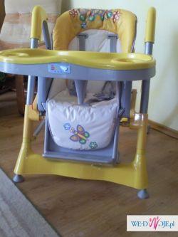 sprzedam krzesełko do karmienia stan idealny!!
