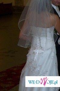 sprzedam ładną i wygodną suknie ślubną
