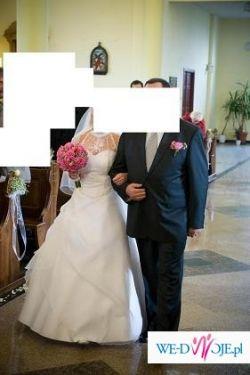 sprzedam lub wypożyczę piękną suknię ślubną