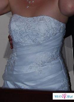 Sprzedam lub wypożyczę sukienkę slubną