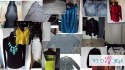 sprzedam mega pake ubrań damskich w rozmiarze M i oversize, wysyłka 18szt
