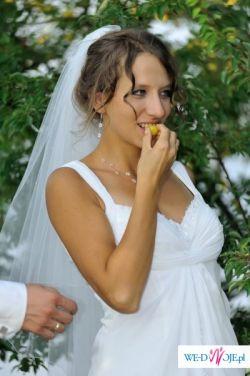 Sprzedam MUŚLINOWĄ suknię ślubną (model San Patrick PAMELA)