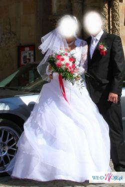 sprzedam  nie drogo sliczna suknie ślubną