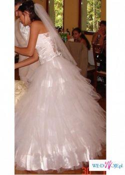 Sprzedam nie powtarzalną suknie ślubną rozm.36/38 !