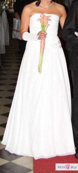 Sprzedam niedrogo suknię slubną