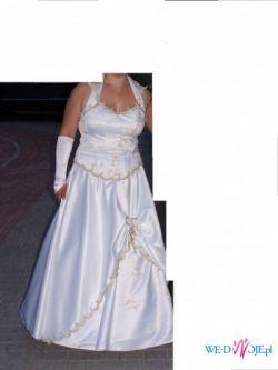 sprzedam niedrogo suknie ślubną