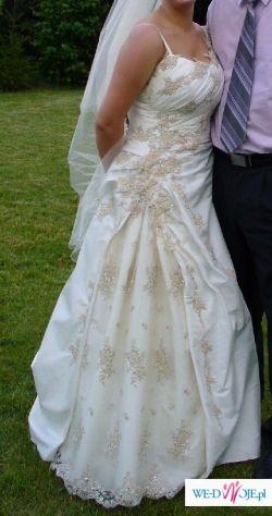 Sprzedam niepowtarzalną,piękną suknie ślubną