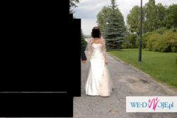 Sprzedam niepowtarzalną suknie ślubną.