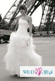 sprzedam niesamowitą suknie śubną