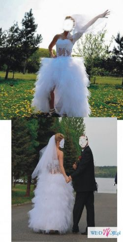 Sprzedam nietypowa  suknię ślubną!!