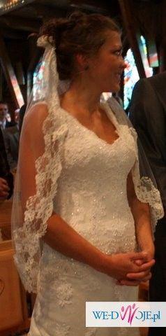 Sprzedam niezwykłą suknię ślubną la Sposa Sala w super cenie!