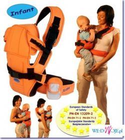 Sprzedam nosidełko ACTIVE INFANT w kolorze CZERWONYM
