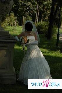 Sprzedam oryginalną suknię ślubną firmy Elizabeth