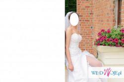 Sprzedam oryginalną suknie ślubną firmy Elizabeth Passion