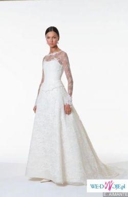 Sprzedam oryginalną suknię ślubną francuskiej marki Cymbeline, model Aimante