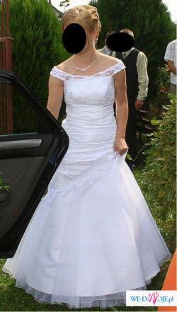 Sprzedam oryginalną suknię ślubną szytą według wlasnego projektu