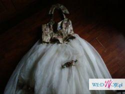 sprzedam oryginalną suknię ślubną tel.518267435 do 16stej