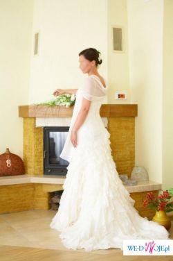 Sprzedam oryginalną suknię ślubną w stylu hiszpańskim