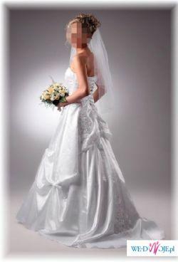 Sprzedam piękną białą suknię