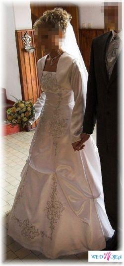 Sprzedam piekną, białą suknię