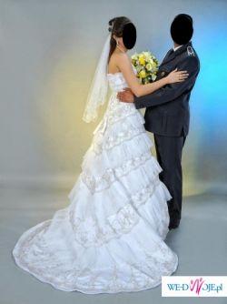 sprzedam piekną białą suknie ślubną  Feya rozmiar 38/40 175cm wzrostu