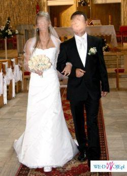 Sprzedam piękną białą suknię SweetHeart 5841