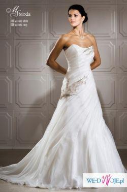 Sprzedam piękną, elegancją suknię ślubną MS MODA Manuelle 2011!!!