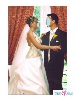 sprzedam piękna francuską suknię ślubną