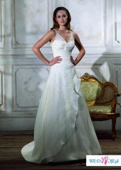 sprzedam piękną hiszpańska suknie ślubną