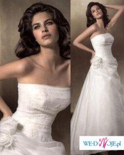 sprzedam piękną hiszpańską suknię z kolekcji ATELIER DIAGONAL- model 310