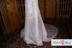 sprzedam piękną i elegancką suknię ślubną