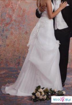 Sprzedam piękną i wygodną suknię ślubną