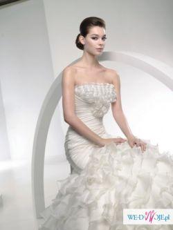 SPRZEDAM piękną, nietuzinkową suknię ślubną LIBANO, LA SPOSA
