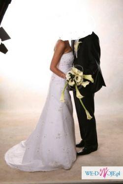 sprzedam piękną, nową suknię ślubną!!