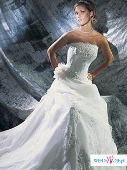 Sprzedam piękną, strojna suknię ślubna