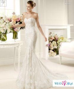 Sprzedam piękną Sukne ślubna La Sposa MULLET  r.36 - 38