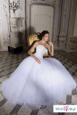 Sprzedam piękną suknię dla księżniczki