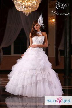 SPRZEDAM PIĘKNĄ SUKNIĘ EMMI MARIAGE DIAMANTE!!!