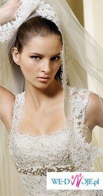 Sprzedam piekną suknię hiszpańską firmy La Sposa