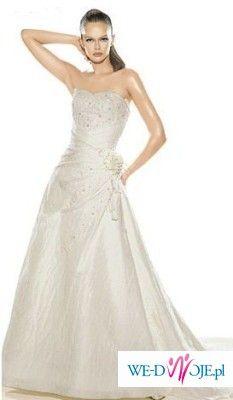 Sprzedam piękną suknię La Sposa Semiramis