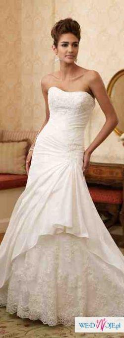 Sprzedam piękną suknię Mon Cheri