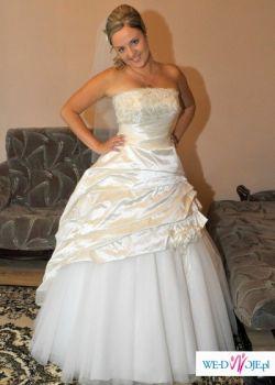 Sprzedam piękną suknię Papa Michel