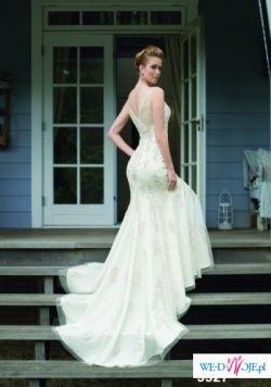 Sprzedam piękną suknię rybkę :)
