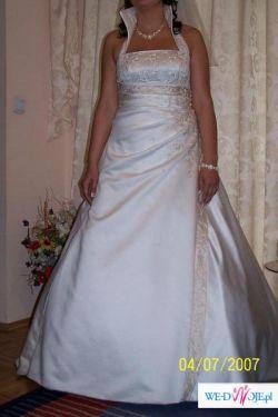 sprzedam piękną suknię Sincerity 3222 z kolekcji 2007 rozmiar 44