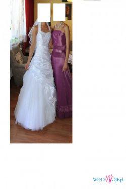 Sprzedam piekną suknie ślubną.